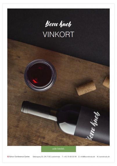 Borre Knob - Vinkort