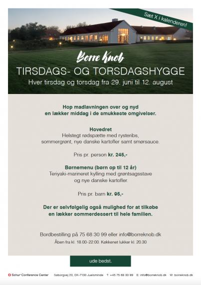 Borre Knob - Tirsdags- og torsdagshygge