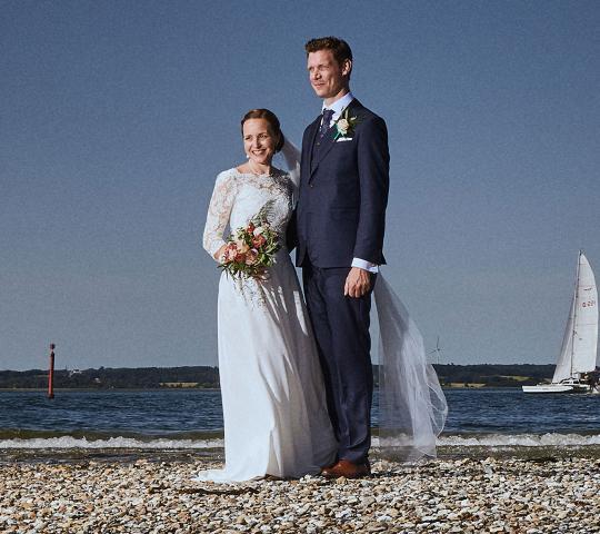 Borre Knob - Bryllup i naturen med udsigt til Horsens Fjord